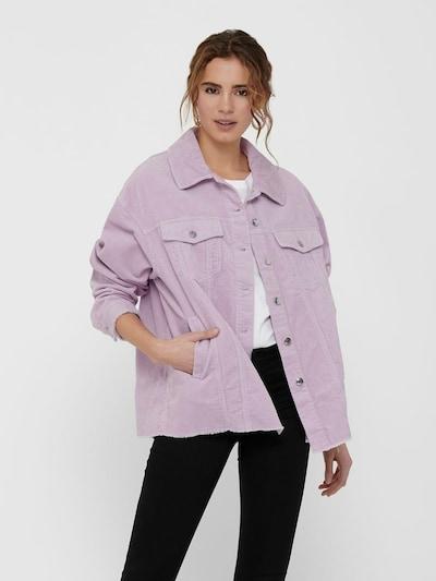 ONLY Blouse 'Bitten' in de kleur Pastellila, Modelweergave