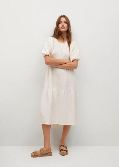 Rochie MANGO pe alb, Vizualizare model