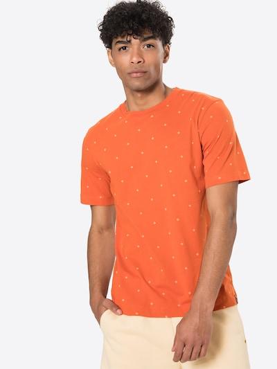 SCOTCH & SODA Тениска в светлобежово / неоново оранжево, Преглед на модела