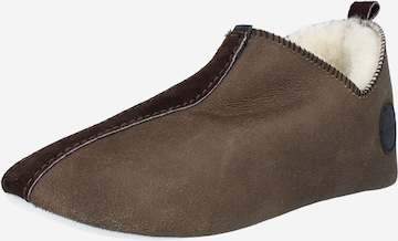 SHEPHERD Slippers 'Lina' in Brown