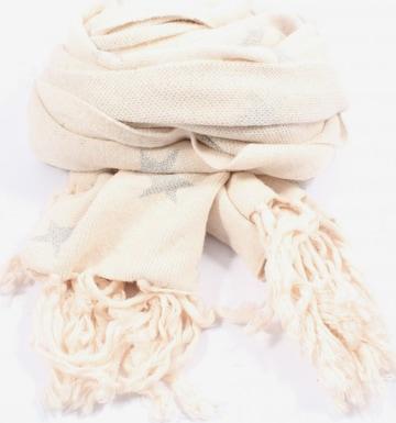 RINO & PELLE Scarf & Wrap in One size in Beige