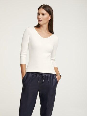 heine Sweater in White