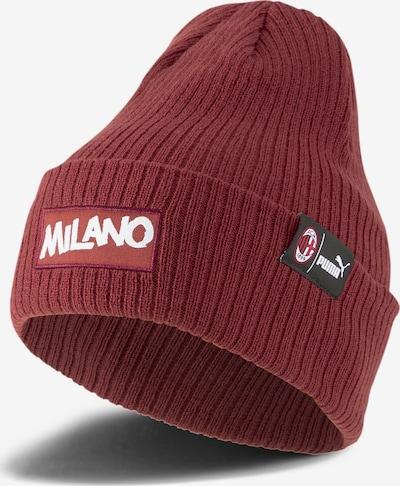 PUMA Sportmütze 'AC Milan ftblCulture' in pastellrot / schwarz / weiß, Produktansicht