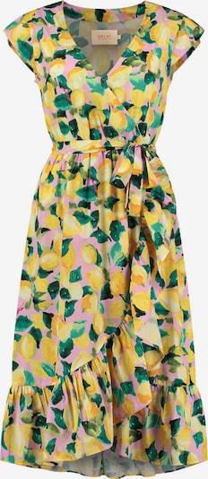 Shiwi Robe en jaune / vert / rose clair, Vue avec produit
