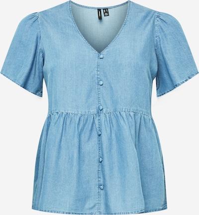 Vero Moda Curve Bluse in dunkelblau, Produktansicht