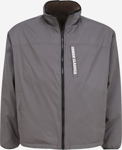 Urban Classics Big & Tall Between-Season Jacket in Grey / White, Item view