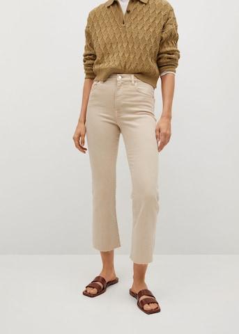 MANGO Jeans 'Sienna' in Beige