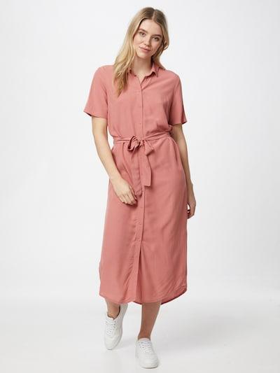 PIECES Jurk 'CECILIE' in de kleur Rosé, Modelweergave