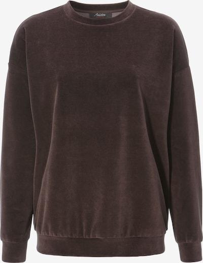 Aniston CASUAL Sweatshirt in dunkelbraun, Produktansicht