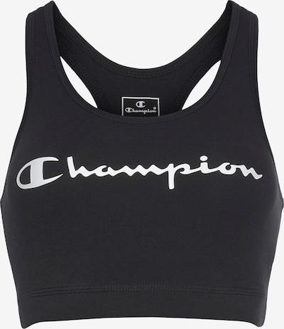 Champion Authentic Athletic Apparel Sport-BH in schwarz / weiß, Produktansicht