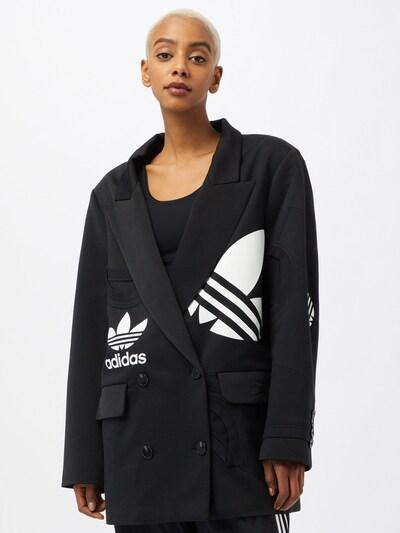 ADIDAS ORIGINALS Blejzr - černá / bílá, Model/ka