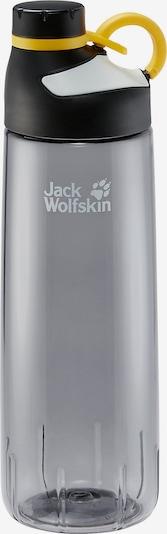 JACK WOLFSKIN Trinkflasche 'Mancora' in gelb / grau / schwarz, Produktansicht