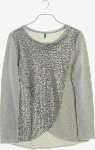 UNITED COLORS OF BENETTON Sweatshirt in S in Grau