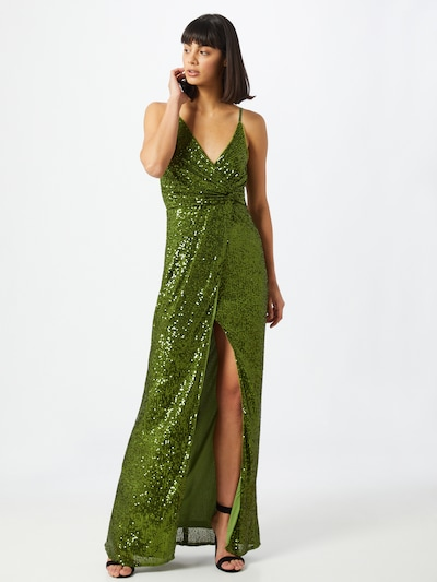 TFNC Kleid 'Fae' in oliv, Modelansicht