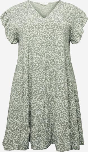 Z-One Kleid 'Jolene' in khaki / weiß, Produktansicht