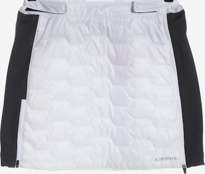 ICEPEAK Minirock in M in schwarz / weiß, Produktansicht