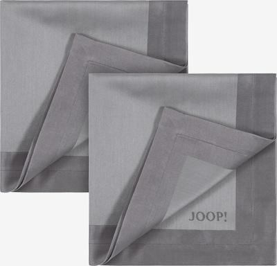 JOOP! Serviette in grau / platin, Produktansicht