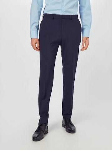 s.Oliver BLACK LABEL Панталон в синьо