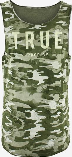 trueprodigy Shirt ' Barrett ' in creme / grün / hellgrün, Produktansicht