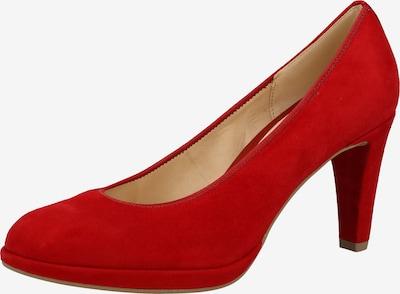 GABOR Escarpins en rouge rubis: Vue de face