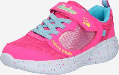 SKECHERS Sneaker 'MISS CRAFTY' in hellblau / gelb / pink / silber, Produktansicht