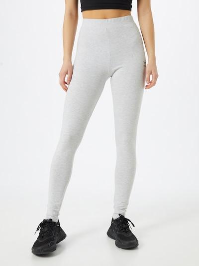 ADIDAS ORIGINALS Leggings en gris claro, Vista del modelo