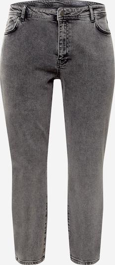 Noisy May Curve Jean 'OLIVIA' en gris denim, Vue avec produit