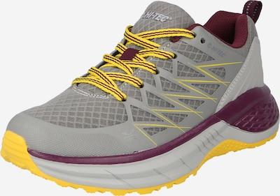 Pantofi 'DESTROYER' HI-TEC pe galben / gri argintiu / roșu burgundy, Vizualizare produs