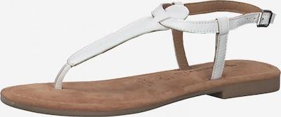 TAMARIS T-bar sandals in Off white, Item view