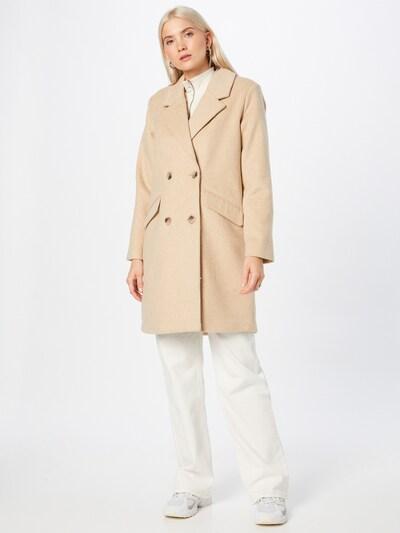 OBJECT Wintermantel in de kleur Lichtbeige, Modelweergave