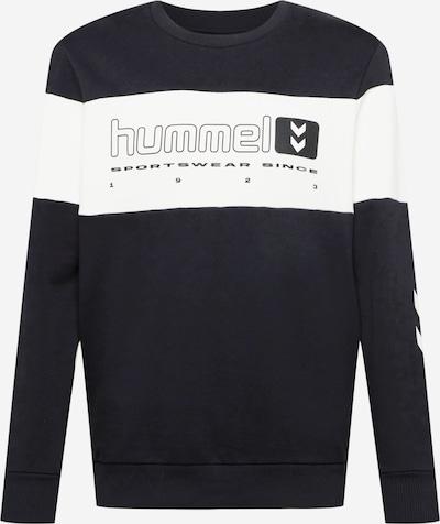 Hummel Sportsweatshirt en schwarz / offwhite, Vue avec produit