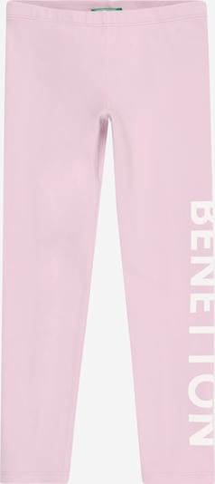 UNITED COLORS OF BENETTON Leggings in rosa / weiß, Produktansicht