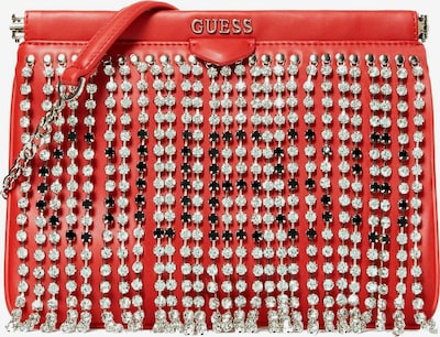 GUESS Clutch 'Fierce Fringe' in rot, Produktansicht