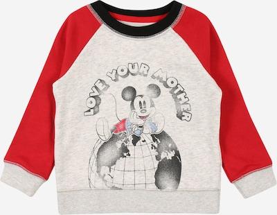 GAP Sweatshirt 'ACTIVE CREW' in hellgrau / rot / schwarz, Produktansicht
