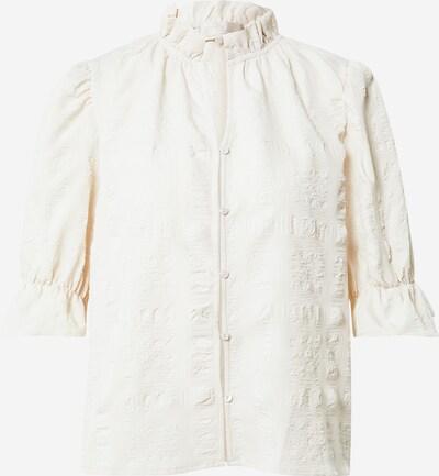 minus Bluse 'Bergitta' in weiß, Produktansicht