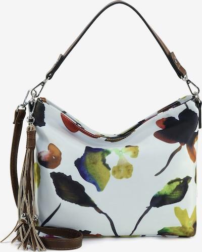 TAMARIS Ročna torbica 'Charlotte' | modra / nočno modra / jabolko / burgund / bela barva, Prikaz izdelka