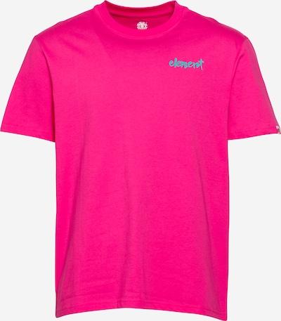 ELEMENT Sport-Shirt 'HENKE' in türkis / pink, Produktansicht