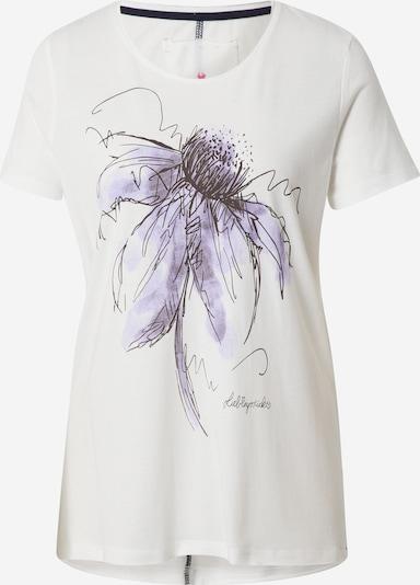 LIEBLINGSSTÜCK T-shirt 'Celinda' i lila / svart / off-white, Produktvy