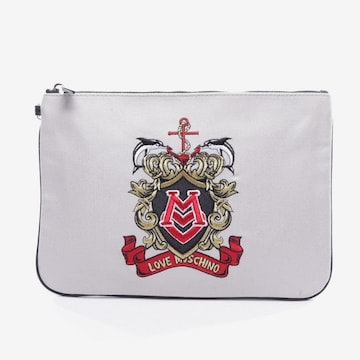 Love Moschino Bag in S in Grey