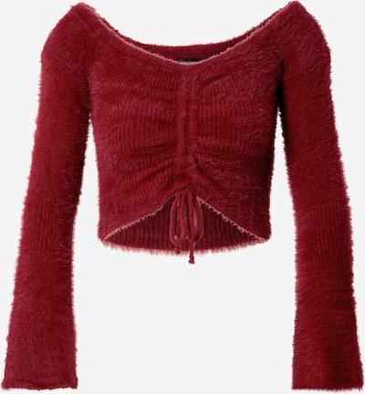 Parallel Lines Пуловер в червено, Преглед на продукта