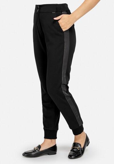 HELMIDGE Stoffhose in schwarz, Modelansicht