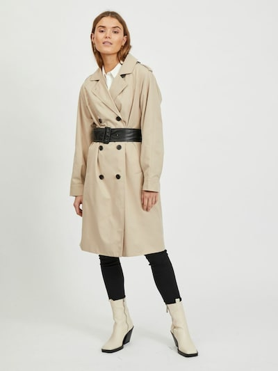 VILA Преходно палто в бежово, Преглед на модела