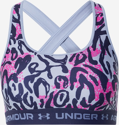 UNDER ARMOUR Sport-BH in marine / opal / fuchsia, Produktansicht