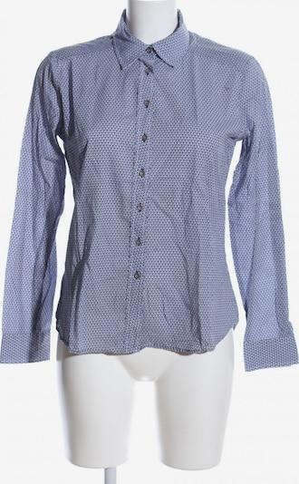 ETERNA Langarmhemd in M in blau / weiß, Produktansicht