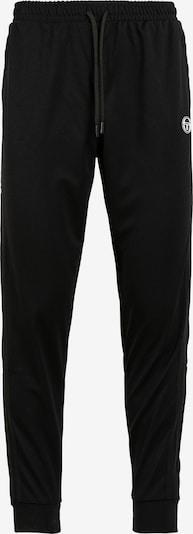 Sergio Tacchini Sporthose in schwarz / weiß, Produktansicht