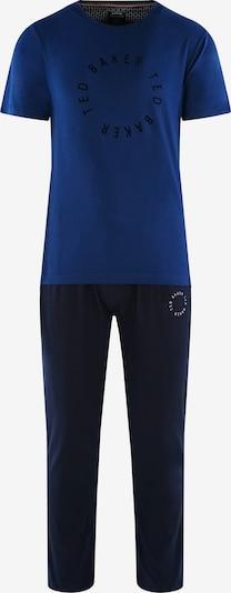 Ted Baker Pyjama lang 'Round Logo' in de kleur Blauw / Donkerblauw, Productweergave