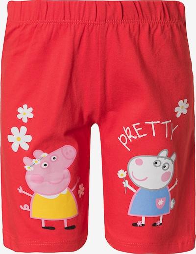 Peppa Pig Hose in mischfarben / rot, Produktansicht
