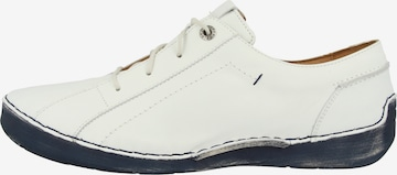 JOSEF SEIBEL Lace-Up Shoes 'Fergey 79' in White
