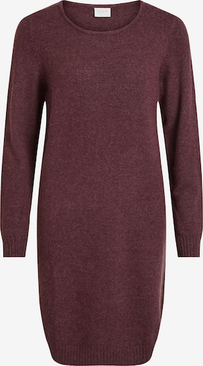 VILA Knitted dress in Wine red, Item view