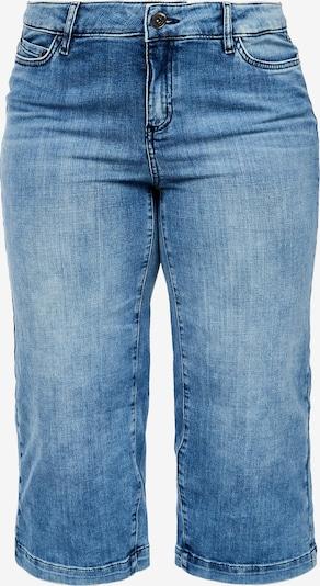TRIANGLE Culotte in blue denim, Produktansicht